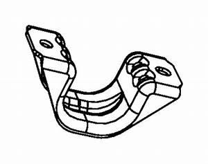 Chrysler 300 Suspension Stabilizer Bar Bracket  300