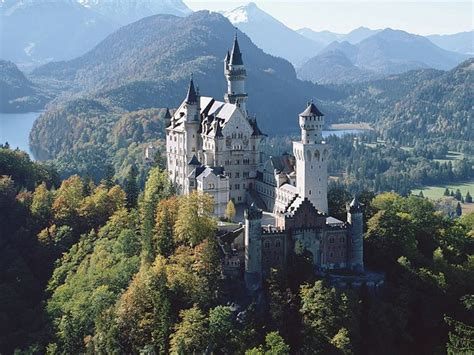 Tourist Attraction Germany Castles