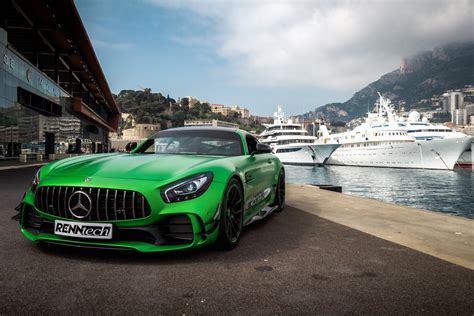 We get onboard and do a nice photoshoot with the car. Renntech Mercedes AMG GT R 2018, HD Cars, 4k Wallpapers, Images, Backgrounds, Photos and Pictures