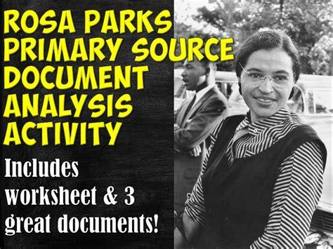 Worksheets Rosa Parks High School Worksheets Best Free