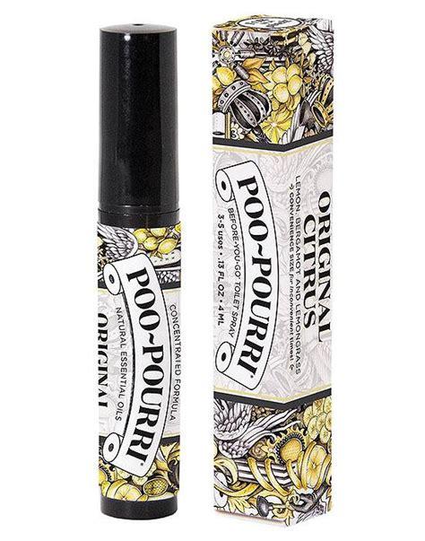 Bathroom Odor Neutralizer by Poo Pourri Original Citrus Toilet Bathroom Spray Essential