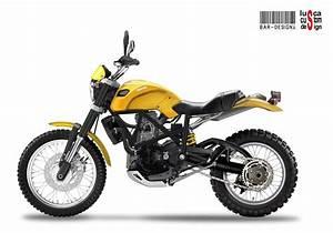 Ducati Scrambler Concepts by Luca Bar & Lusca Custom