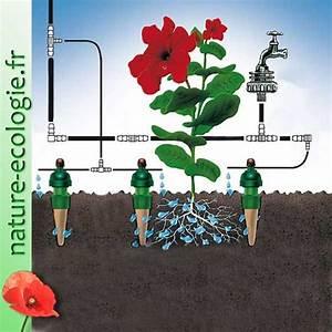 Calcul Arrosage Goutte à Goutte : arrosage goutte goutte jardin ~ Melissatoandfro.com Idées de Décoration