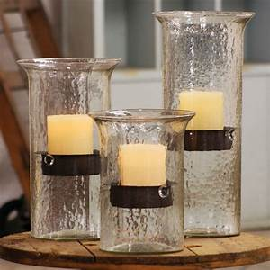 kalalou glass candle cylinders w inserts cv412 With kitchen cabinets lowes with big glass candle holders