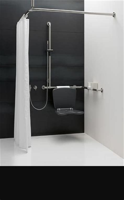 stylish disabled bathrooms showers  livinghouse
