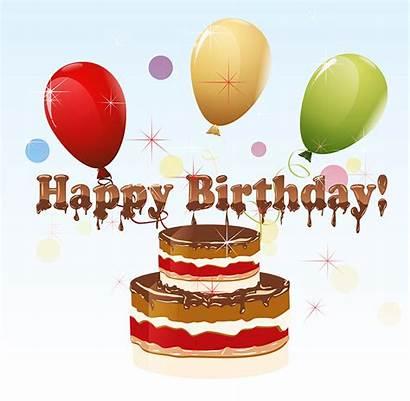 Birthday Happy Clip Clipart Cake Funny Birthdays