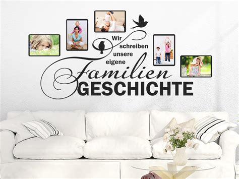 Wandtattoo Mit Fotorahmen by Wandtattoo Fotorahmen Familiengeschichte Wandtattoos De