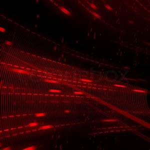 Abstract red matrix background | Stock Photo | Colourbox