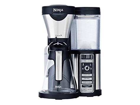 Saves money without the need for paper water filters. Ninja Coffee Bar with Glass Carafe and Auto-iQ One Touch Intelligence with Paper Filter Kit ...
