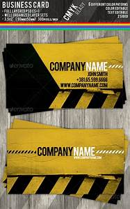 Cardviewnet business card visit card design for Construction business card templates