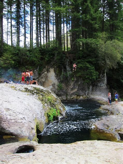 river naked falls washougal swimming washington holes cliff advertisement project outdoorproject