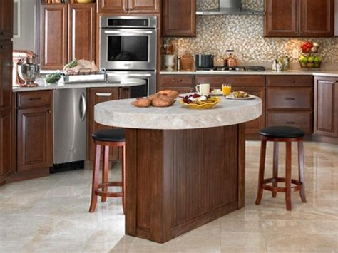 Modern Round Kitchen Island Interesting Ideas  Interior