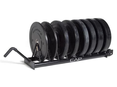 cap horizontal bumper plate rack adamant barbell
