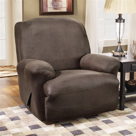 slipcover for recliner a review on sure fit stretch leather recliner slipcover
