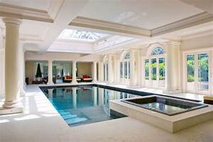Indoor, Swimming, Pools, With, Classical, Design