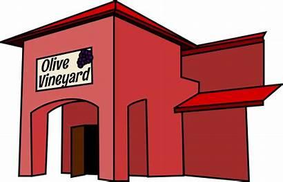 Restaurant Clipart Transparent Clip Building Fancy Cliparts
