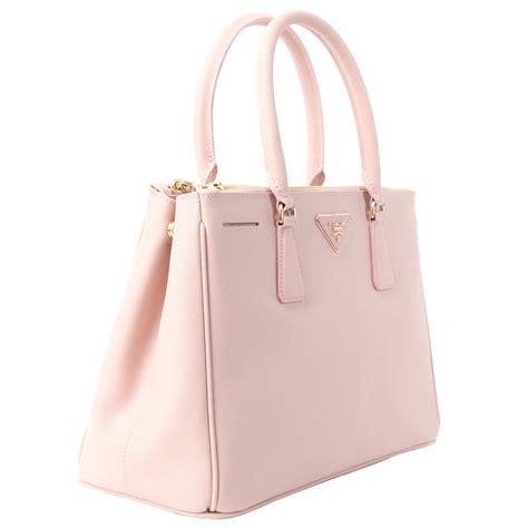 light pink leather purse light pink prada bag prada blue saffiano tote