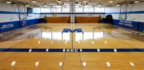 do it yourself refinishing hardwood floors courtsports design basketball court floor design all