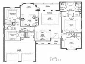 split floor plans split bedroom ranch house plans