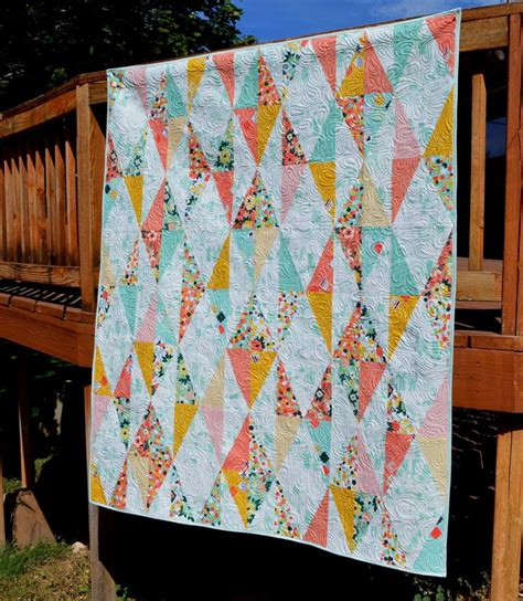 diamond drop quilt pattern favequiltscom