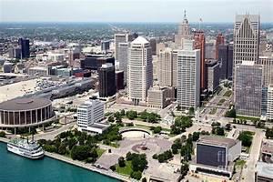 Philip A Hart Plaza Detroit Photograph by Bill Cobb