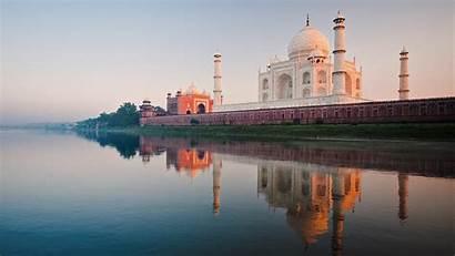 Taj Mahal India Wallpapers River Tajmahal Desktop