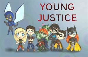Young Justice Season 2 Team by Krissychan2 on DeviantArt