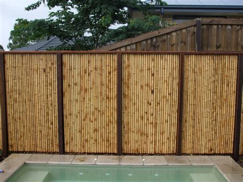 pictures of bamboo fences bamboo fencing landscaping gardening ideas