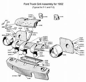 1952 Ford F1 Parts