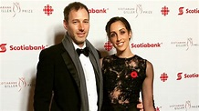Catherine Reitman and Philip Sternberg glam up for the ...