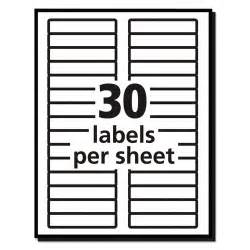 Template For Labels 30 Per Sheet Avery 5066 Labels