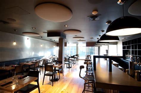 restaurant kitchen ceiling tiles design inspiration acoustics with design toronto canada 4778