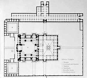 Plan Selimiye Mosque,Turkey. | P.M. | Pinterest | Mosques ...