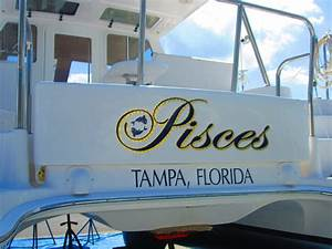 products custom boat lettering With boat lettering size