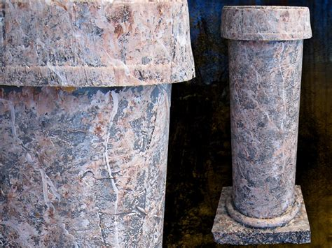 How To Make Fauxstone Columns For Halloween Or Any