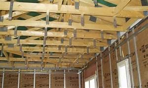 Faux Plafond Autoportant : ordre ossature plaquage pour plafond et doublage ~ Nature-et-papiers.com Idées de Décoration