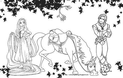 Rapunzel Coloring Pages To Print - Eskayalitim