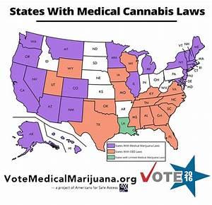 legalization of marijuana states map