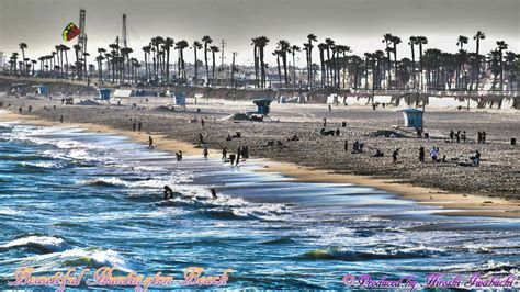 the huntington los angeles huntington beach beautiful scene hdr video hd in los angeles california usa youtube