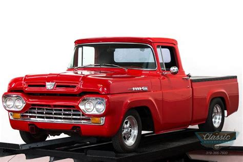 1960 Ford F100 For Sale Carsforsalecom