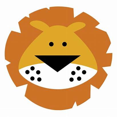Lion Head Clipart Clip Face Clipartion Svg