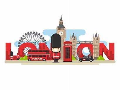 London Animated Londres Clipart Para Ben Dribbble