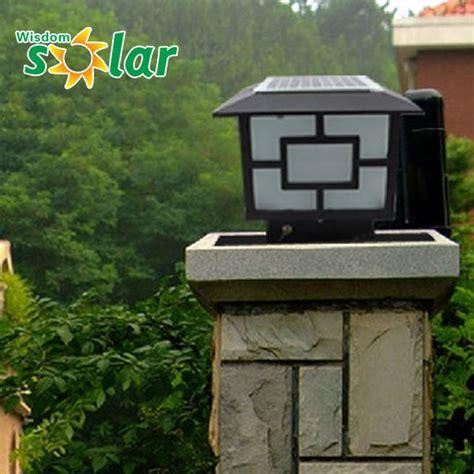 garden gate lights solar gate lights garden