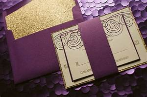 nancy suite fancy glitter package purple and gold wedding With purple and gold wedding invitations set