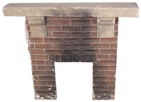 brick facade   fireplace