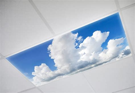 whimsical decorative cloud fluorescent light lens