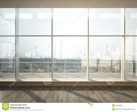 view  city  wide window royalty  stock