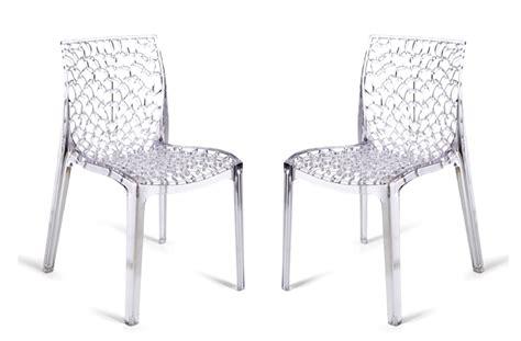 chaises en plexiglas les chaises spider tout simplement exceptionnelles