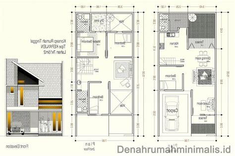 desain rumah minimalis  lantai  desain rumah rumah