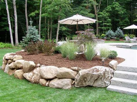 landscaping boulders natural stone walls by connecticut landscape professionals birch mountain earthworks